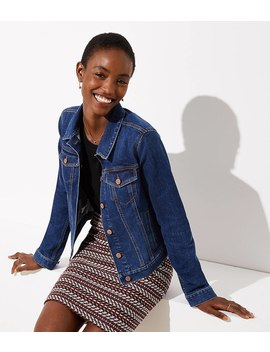 Petite Denim Jacket by Loft