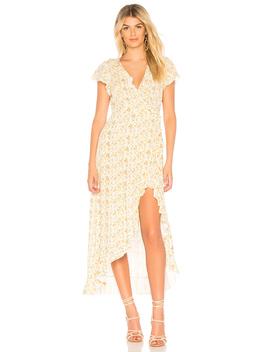 Amelia Wrap Maxi Dress by Auguste