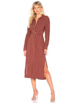 Audrey Midi Stripe Dress by Free People