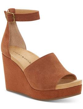 Women's Yemisa Wedge Sandals by Lucky Brand