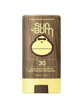 Sun Bum Premium Sunscreen Face Stick, Spf 30, 0.45 Oz. Stick, 1 Count, Broad Spectrum Uva/Uvb Protection, Paraben Free, Gluten Free, Oil Free by Sun Bum