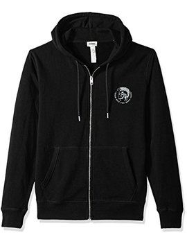 Diesel Men's Brandon Mohican Zip Hooded Sweatshirt by Diesel