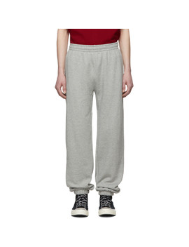 Grey A$Ap Nast Edition Cotton Lounge Pants by Converse