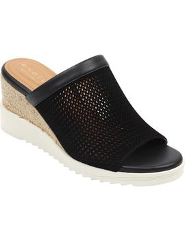 Zooey Wedge Slide Sandal by Evolve