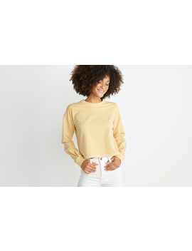 Tate Crop Sweatshirt by Marine Layer