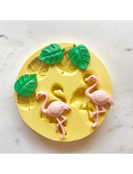 "<Span Data Preview Title="""">1421 Flamingos And Tropical Leaves  Silicone Rubber Flexible Food Safe Mold Moul...</Span>          <Span Data Full Title="""" Aria Hidden=""True"" Class=""Display None"">1421 Flamingos And Tropical Leaves  Silicone Rubber Flexibl... by Etsy"