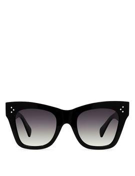 Women's Polarized Square Sunglasses, 50mm by Celine