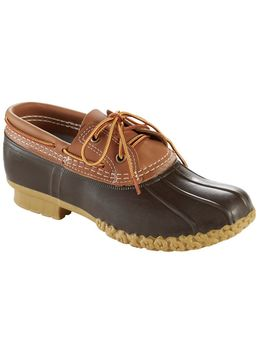 L.L.Bean Boots, Two Eye Boat Gumshoes, Leather by L.L.Bean