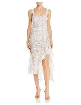 Tiffany Lace Midi Dress by Bronx And Banco