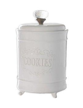 Circa Glass Door Knob Footed Cookie Jar by Mud Pie