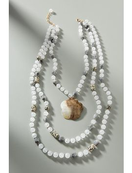Jetty Island Bib Necklace by Anthropologie