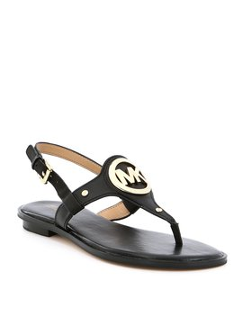 Aubrey Charm Slingback Thong Sandals by Michael Michael Kors