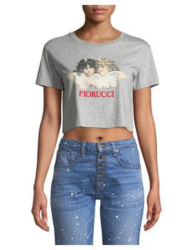 Vintage Angels Cropped Tee by Fiorucci