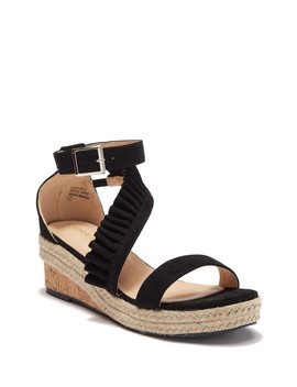 Gaston Espadrille Cork Wedge Sandal by Chase & Chloe