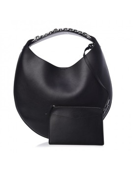 Givenchy Calfskin Infinity Small Hobo Bag Black by Givenchy