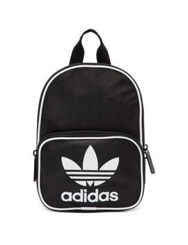 Black Mini Santiago Backpack by Adidas Originals