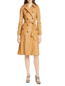 Leather Trench Coat by Karen Millen
