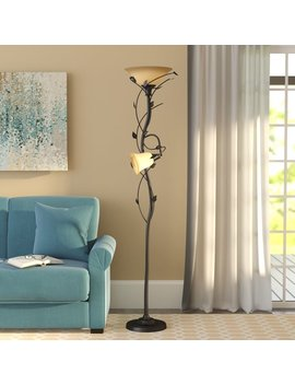 "Ila 72"" Led Torchiere Floor Lamp by Andover Mills"