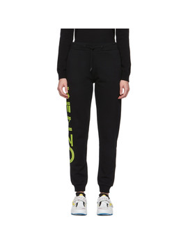 Black Sport Jogger Lounge Pants by Kenzo