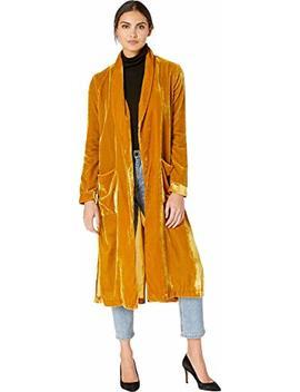 Astr The Label Women's Estelle Velvet Long Kimono Jacket by Astr The Label