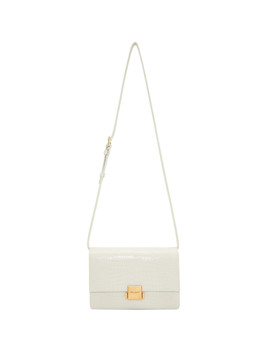 White Medium Bellechasse Bag by Saint Laurent