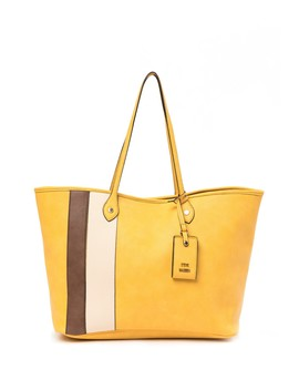 Starlet Oversized Faux Leather Tote Bag by Steve Madden
