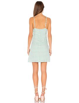 Sage Gingham Dress by Minkpink