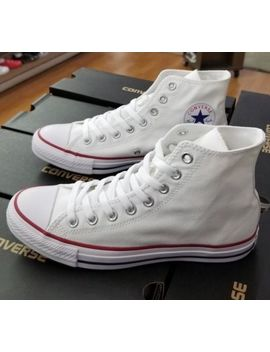Converse All Star Hi Chuck Taylor Optical White Men M7650 by Converse