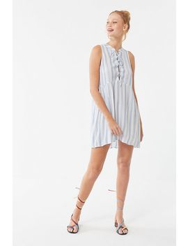 Auguste The Label Riviera Poolside Lace Up Mini Dress by Auguste The Label