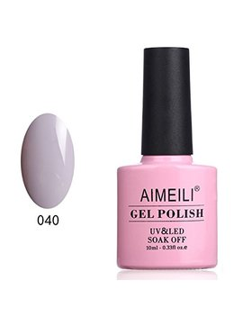 Aimeili Soak Off Uv Led Gel Nail Polish   Cashmere Kind Of Gal (040) 10ml by Aimeili