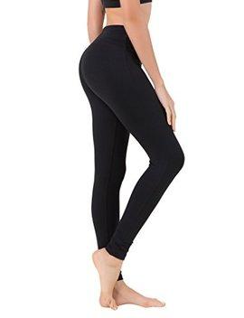 Queenie Ke Women Power Flex Yoga Pants Workout Running Leggings No See Through by Queenieke