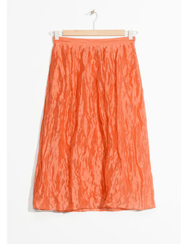 Silk Blend Skirt by & Other Stories