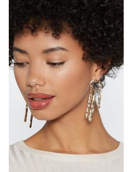 Hammer Home Drop Earrings by Nasty Gal