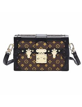 Sinianer Designer Crossbody Bag Purse For Women Fashion Shuldder Bag Ladies Box Purse by Sinianer