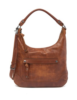 Melissa Large Leather Hobo Bag by Frye