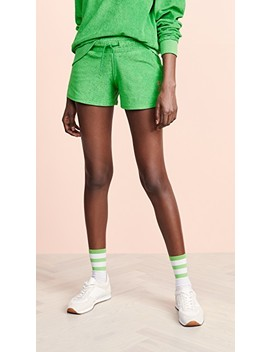 Terry Shorts by Les Girls, Les Boys