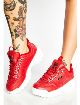 Flaming Disruptor Ii Premium Sneakers by Fila