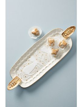 Adorned Platter by Anthropologie
