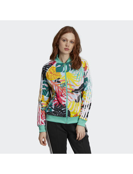 Tropicalage Sst Graphic Track Jacket by Adidas