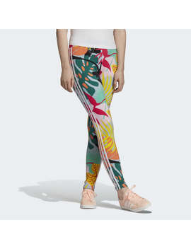 Tropicalage 3 Stripes Tights by Adidas