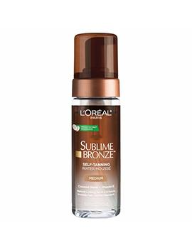 L'oreal Paris Skin Care Sublime Bronze Hydrating Self Tanning Water Mousse, 5 Fluid Ounce by L'oreal Paris