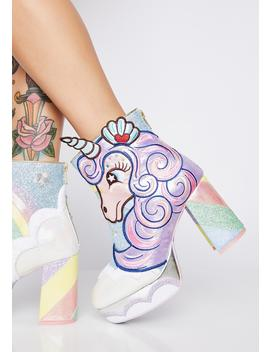 Daisy Dreams Glitter Boots by Irregular Choice