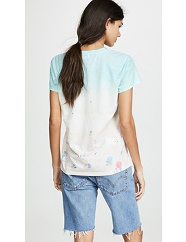 X Grey Malin Wikiki Beach Print Tee by Splendid