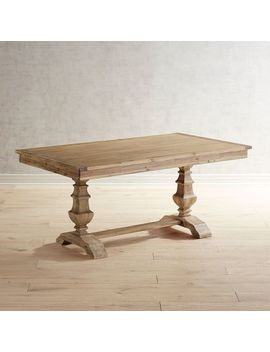 "Natural Stonewash 66"" Dining Table by Bradding Collection"