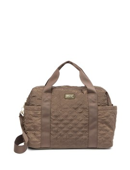 Quilted Weekend Tote Bag by Madden Girl