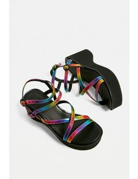Uo Angie Strappy Wedge Heels by Urban Outfitters