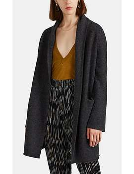 Cashmere Open Front Cardigan by Barneys Warehouse