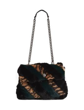 Soho Faux Fur Shoulder Bag by Kurt Geiger London