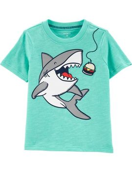 Shark Slub Jersey Tee by Carter's