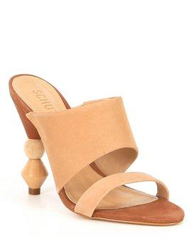 Tosca Nubuck Dress Sandals by Schutz